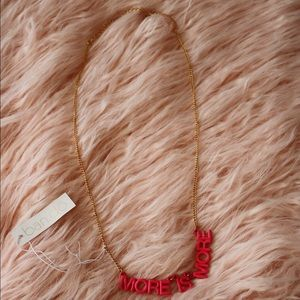 Ban.do More is More Party Banner Necklace
